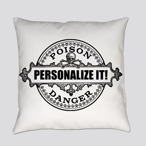 personalized poison Everyday Pillow