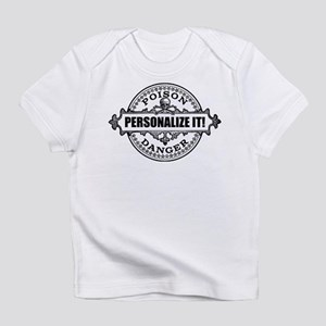 PERSONALIZED Poison Label Infant T-Shirt