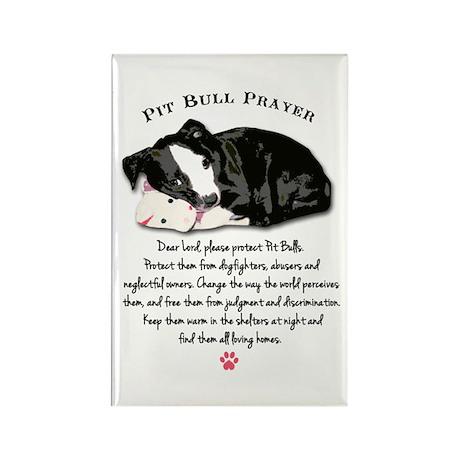 Pit Bull Prayer Magnets