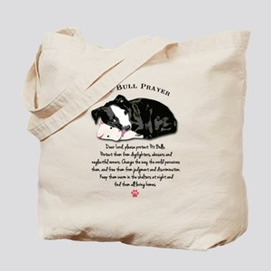 Pit Bull Prayer Tote Bag