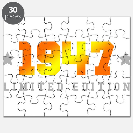 Limited Edition 1947 Birthday Puzzle