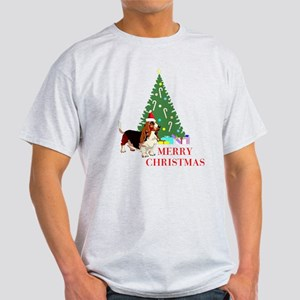 Merry Christmas Basset Hound 11 T-Shirt