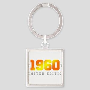 Limited Edition 1960 Birthday Keychains