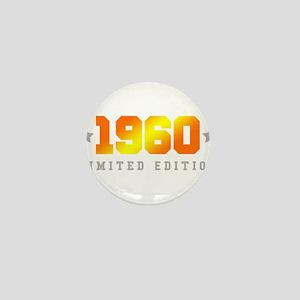 Limited Edition 1960 Birthday Mini Button