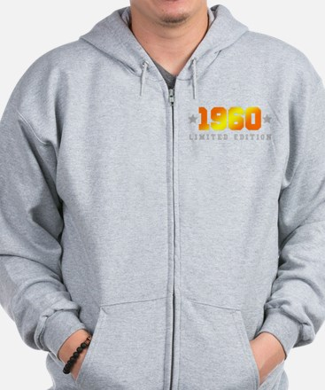 Limited Edition 1960 Birthday Zip Hoody