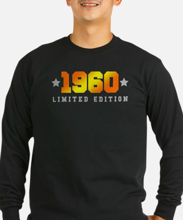 Limited Edition 1960 Birthday Long Sleeve T-Shirt