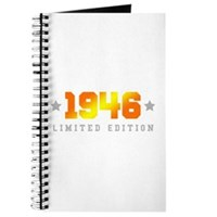 Limited Edition 1946 Birthday Journal
