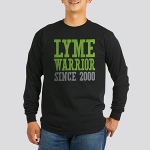 Lyme Warrior Since 2000 Long Sleeve T-Shirt