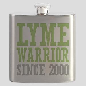 Lyme Warrior Since 2000 Flask
