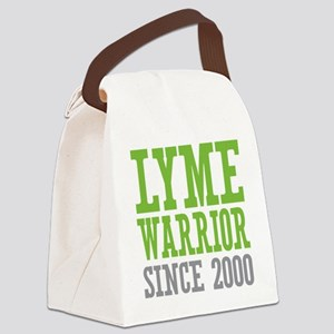 Lyme Warrior Since 2000 Canvas Lunch Bag