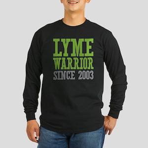 Lyme Warrior Since 2003 Long Sleeve T-Shirt