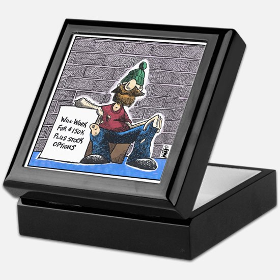 Cute Homeless Keepsake Box