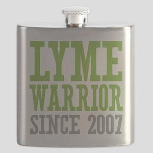 Lyme Warrior Since 2007 Flask
