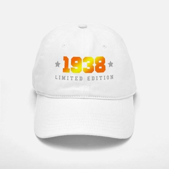 Limited Edition 1938 Birthday Baseball Baseball Cap