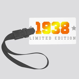 Limited Edition 1938 Birthday Large Luggage Tag