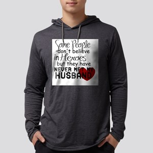 Husband hero Long Sleeve T-Shirt