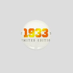 Limited Edition 1933 Birthday Mini Button