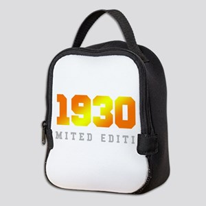 Limited Edition 1930 Birthday Neoprene Lunch Bag