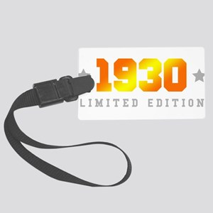 Limited Edition 1930 Birthday Large Luggage Tag