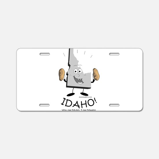 Funny Idaho Aluminum License Plate