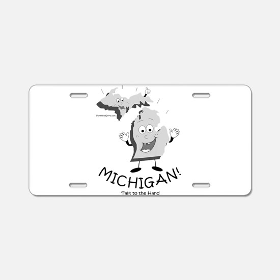 Upper peninsula Aluminum License Plate