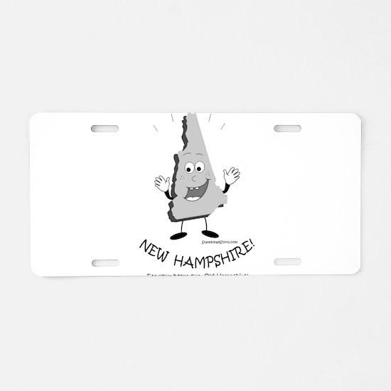 Unique New hampshire Aluminum License Plate