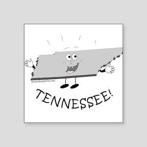 "Tennessee Square Sticker 3"" x 3"""