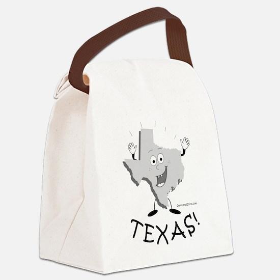 Cute Texas bbq Canvas Lunch Bag
