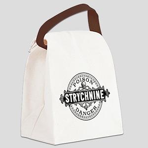 Halloween Poison Label Strychnine Canvas Lunch Bag
