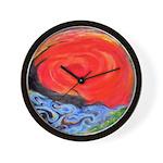 Eye Of Jupiter Wall Clock