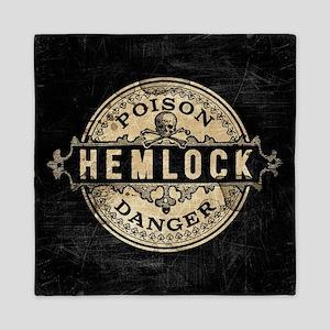 Vintage Style Hemlock Poison Queen Duvet