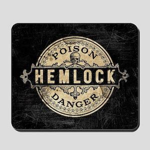 Vintage Style Hemlock Poison Mousepad