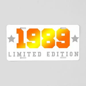Limited Edition 1989 Birthday Shirt Aluminum Licen
