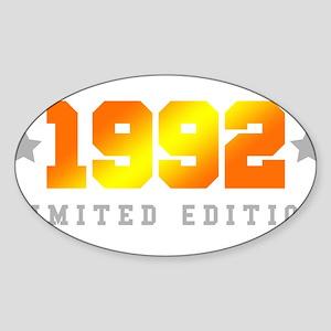 Limited Edition 1992 Birthday Shirt Sticker