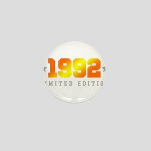 Limited Edition 1992 Birthday Shirt Mini Button