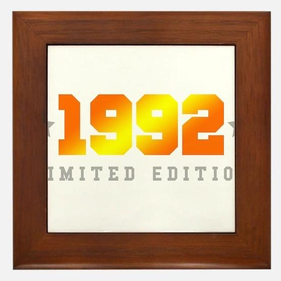 Limited Edition 1992 Birthday Shirt Framed Tile