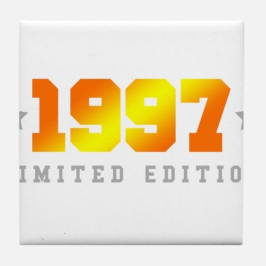 Limited Edition 1997 Birthday Shirt Tile Coaster