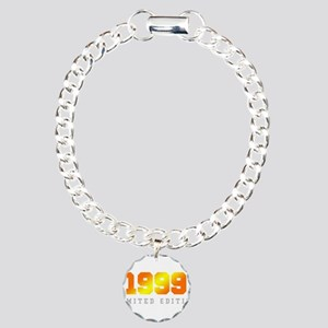 Limited Edition 1999 Birthday Shirt Charm Bracelet