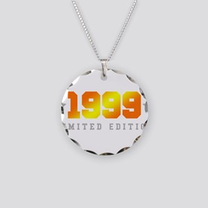 Limited Edition 1999 Birthday Shirt Necklace Circl