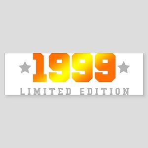 Limited Edition 1999 Birthday Shirt Bumper Sticker