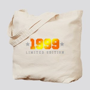 Limited Edition 1999 Birthday Shirt Tote Bag