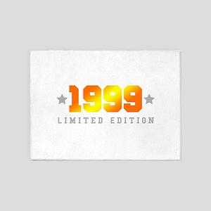 Limited Edition 1999 Birthday Shirt 5'x7'Area Rug