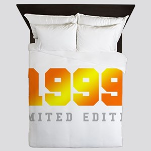 Limited Edition 1999 Birthday Shirt Queen Duvet