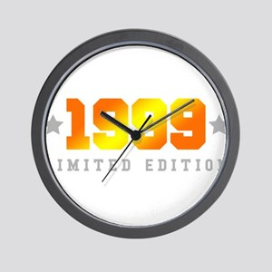 Limited Edition 1999 Birthday Shirt Wall Clock