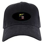 Baseball Hat Black Cap With Patch