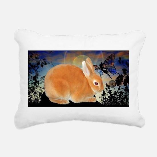 Fairy Kisses Rectangular Canvas Pillow