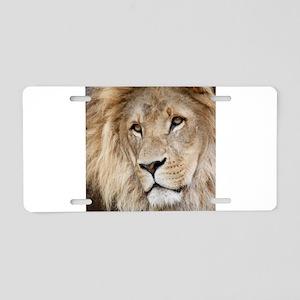 Lion20150804 Aluminum License Plate