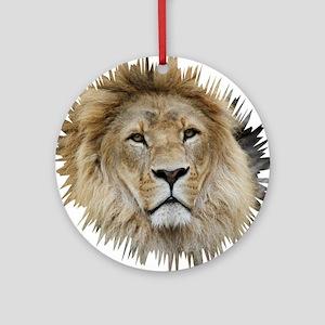 Lion20150806 Round Ornament