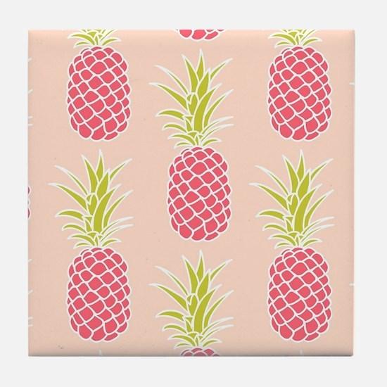 Pineapple Pattern Tile Coaster