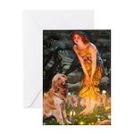 Fairies & Golden Greeting Card
